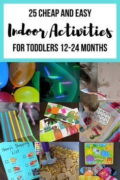 Activities For One Year Olds, Indoor Activities For Toddlers, Toddler Learning Activities, Montessori Activities, Infant Activities, Teaching A Toddler, Learning For Toddlers, Easy Toddler Crafts 2 Year Olds, 18 Month Activities