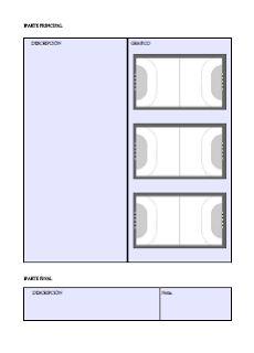 BALONMANEROS: Planilla de entrenamientos de balonmano Floor Plans, Diagram, Handball, Organize, Training, Floor Plan Drawing, House Floor Plans