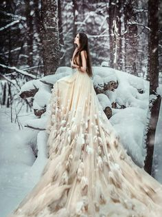 Another Lady Snow dress idea.