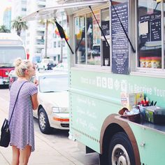 the waffle truck, Santa Monica, California, USA