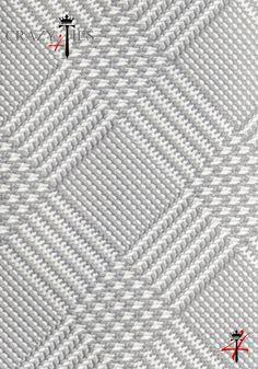 Particolare Tessuto Cravatta Principe di Galles in Seta Jacquard Grigia e Bianca
