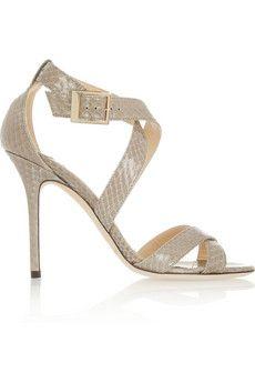 gorgeous in beige Jimmy Choo sandals !!!!  love love love !!!!