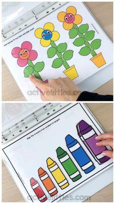 Toddler Preschool Busy Book