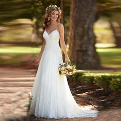 Amelia Beach Wedding Dress