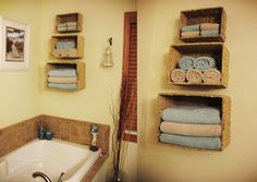 Here is a project we did in my mother's bathroom. Looks awesome!