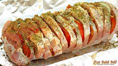 Meatloaf, Meat Recipes, Pork, Food And Drink, Christmas, New Years Eve, Kale Stir Fry, Xmas, Navidad