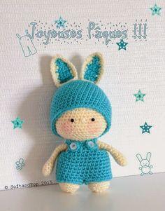 Youpi ! C'est Pâques !! #amigurumi #crochetbunny #easter