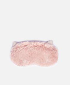 OYSHO furry cat eye mask