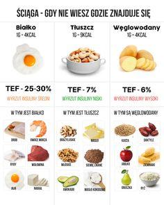 Czy śmieciowe jedzenie spowalnia metabolizm? - Motywator Dietetyczny Healthy Life, Healthy Living, Superfoods, Cocktail Recipes, Food Hacks, Food And Drink, Healthy Recipes, Eat, Kitchen Stuff