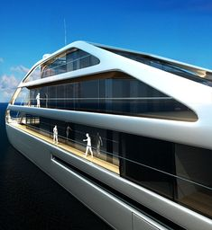 Jolly Roger Yacht by Benetti - Design by Ludovica and Roberto Palomba