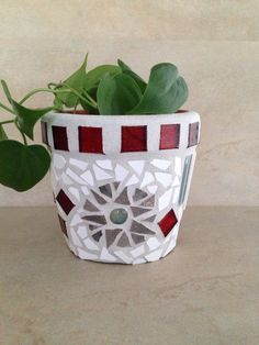 A personal favorite from my Etsy shop https://www.etsy.com/listing/229450650/mosaic-flower-pot-outdoor-planter-indoor