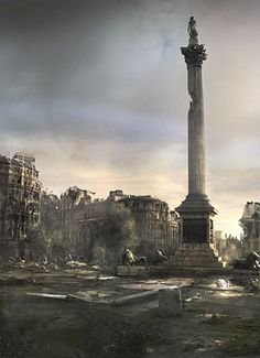 Trafalga Square by James Chadderton