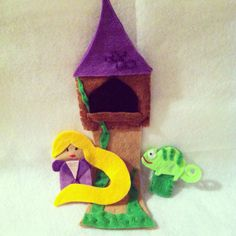 Disney Princess Finger Puppets - Tangled