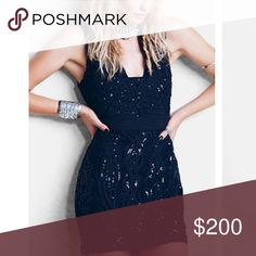 "Free People | Snake Charmer Bodycon Curlicue embroidery and light-catching sequins embellish a sleeveless body-con dress designed to dazzle up the night. 32 1/2"" length Back keyhole closure. Lined. 100% nylon. Free People Dresses"