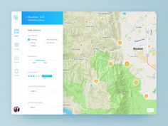 Trail Finder by Jeff Lupinski #Design Popular #Dribbble #shots