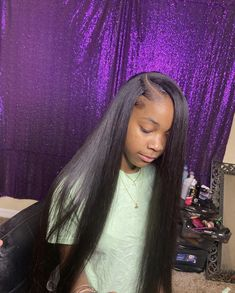 Track Hairstyles, Sew In Hairstyles, Straight Weave Hairstyles, Black Girl Braided Hairstyles, Baddie Hairstyles, Box Braids Hairstyles, Pretty Hairstyles, Hairstyles Pictures, School Hairstyles