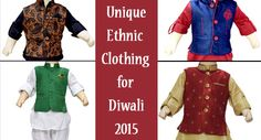 Attractive traditional Indian outfits which are perfect to dress your cute little kid on the auspicious occasion of Diwali.