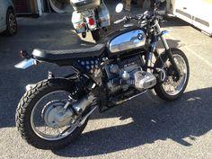 BMW R100 GS Scrambler By Dirty Seven Motorcycles
