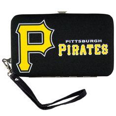 Pittsburgh Pirates MLB Shell Wristlet
