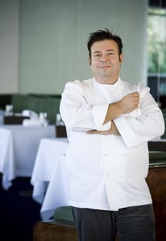 Chef Peter Gilmore ... It is well documented that he was inspired to cook by his mother (who took him along to a gas cooking class at the tender age of four) yet the formative years for a chef usually fall during, and just after, their apprenticeship, and are generally the years spent carefully studying and mastering the skills of others. Masterchef Australia, Sydney Restaurants, Australian Food, Executive Chef, Cooking Classes, Lineup, Wine Recipes, Chef Jackets, Stars