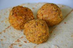Almôndegas de lentilhas para um esquistinho de primeira :D
