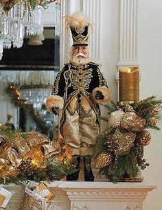 Perfect for your mantle or an accent table, the General Nikolai Nutcracker Doll stands three feet tall and brings sophistication to your holiday display.