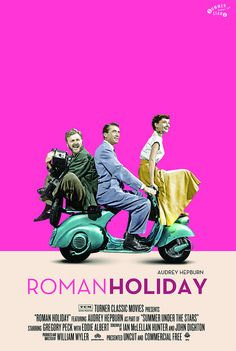 Want this gorgeous Roman Holiday poster!