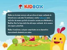 KidBox, una alternativa para proteger a los niños en internet.