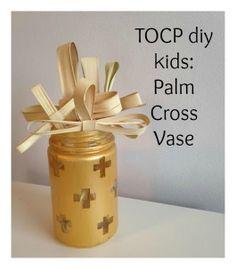 TOCP diy kids: Palm Cross Vase Palm Sunday! http://www.theorthodoxchildrenspress.com/diy-kids/tocp-diy-kids-palm-cross-vase/