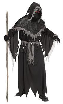 Grim REAPER ROBE FANTAISIE GARÇONS Halloween Effrayant ghoul Costume Enfant Kids Tenue