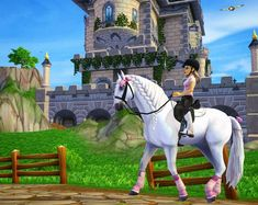 I look like a SSO version of Barbie. Breyer Horses, Horse Tack, Star Stable Horses, Horse Riding Gear, Horse Games, Star Wars, Crepe Cake, Show Jumping, Club Outfits