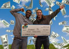 These guys were too funny! Dominic N. and his pal are going to celebrate a big win on Amass-ive Fortune by paying a visit to Dave & Buster's! Congratulations, fellas!