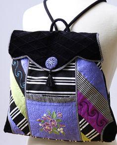 Posh Pink Backpack - Hope Sew Patterns