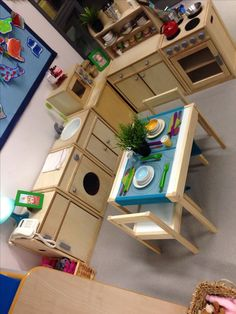 Kitchen Corner Ideas Childcare Ideas – Real Time – Diet, Exercise, Fitness, Finance You for Healthy articles ideas Play Corner, Corner House, Kitchen Corner, Real Kitchen, Toy Kitchen, Reggio Emilia, Dramatic Play Area, Dramatic Play Centers, Eyfs Classroom