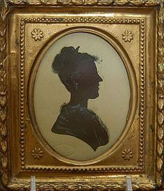 Smart Vintage Colonial Man Portrait Reverse Painted Cameo Wood Gold Guilt Frame Art At Any Cost Antiques