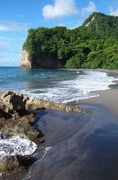 """Plage du nord """"anse a voile""""/Martinique"""