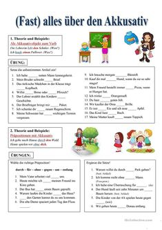 Study German, Learn German, German Grammar, German Words, Akkusativ Deutsch, German Resources, Deutsch Language, Germany Language, First Day Of School Activities
