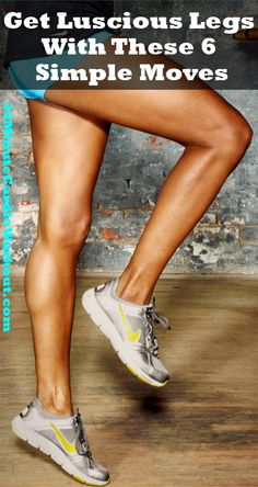 6 quick and simple moves to help you get leaner and sexier legs. Check out the free workout here: http://www.30minutecardioworkout.com/get-luscious-legs-with-these-6-simple-moves #15LBWeightLoss