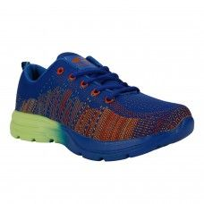Blue Sports Shoes Flyknit for Men -  Buy Online Blue Sports Shoes Flyknit for Men Sports Shoes are known for their fun, contemporary design combined with rugged durability that complement your sports and laidback look. Easy to wear Sports Shoes consists fashion and comfort with extra ordinary unique range of design and colors