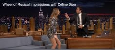 Musical Impressions with hot Celine Dion