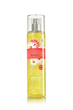 Love & Sunshine Diamond Shimmer Mist - Signature Collection - Bath & Body Works