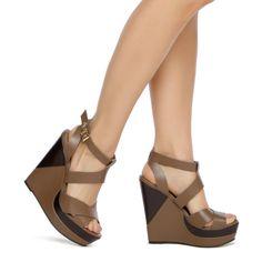 ShoeDazzle.com | Owena by Sophia & Lee in brown - Sale: $29.95 (Regular: $64.95)