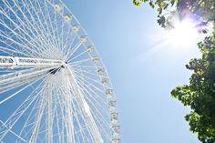 La Grande Roue de Paris, présente à fete foraine des Tuileries Paris 2013