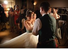 Wedding First Dance, Gorgeous Newlyweds at Carberry Tower in Edinburgh, Scotland