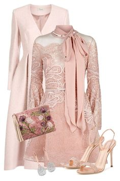 Untitled #3798 by elia72 on Polyvore featuring polyvore, fashion, style, Elie Saab, Temperley London, Giuseppe Zanotti, Sam Edelman, Monica Vinader and clothing #elia72