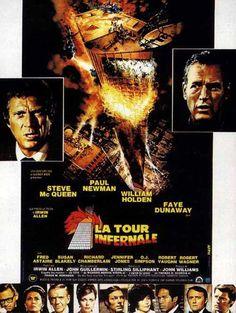 Affiche Française - La Tour infernale