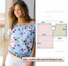 blusas y tops de verano patrón ... ... (mucho). Discusión sobre LiveInternet - Servicio de Rusia diarios online