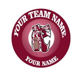 The customized ballet Logo is designed exactly as your request. You can choose any Team Name, Dancer'Name and Number, Background Colors and Image Inside its Circles by any size. Ballet Fashion, Team Names, Colorful Backgrounds, Logos, Logo