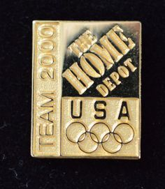 Home Depot Olympic Pin Team 2000