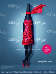 Affiche Beaujolais Nouveau - 2013